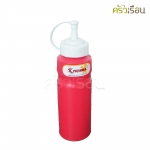 Reangwa Standard - ขวดซอสพลาสติก แดง 240 ml. 9040