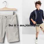 1997 GapShield Flat Front Shorts - Fresh Praline ขนาด 12(Slim) ปี