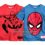 1124 H&M Spiderman T-Shirt - Red (ชน shop) ขนาด 4-6 ปี