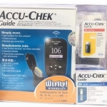 Accu-Chek Guide เครื่องตรวจน้ำตาลในเลือดแบบไร้สายและอุปกรณ์เจาะเลือด