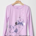 1847 Gap Kids T-Shirt - Purple ขนาด 14-16 ปี