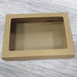 กล่องของขวัญ กล่องของที่ระลึก กล่องฝาครอบ กล่องอเนกประสงค์ กล่องของใช้ กล่องใส่ข้าวสาร กล่องแบบฝาครอบ สีน้ำตาล ขนาด 22.5x16.2x4.5 ซม. ราคา 270 บาท/20 ใบ