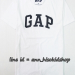 1706 Gap Arch Logo T-Shirt - White ขนาด M,L,XL