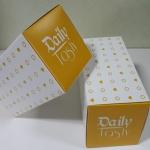 กล่องเค้กโรล / กล่องคัพเค้ก 2 ชิ้น / กล่องเค้ก 2 ชิ้น / กล่องขนม กว้าง 16.8 x ยาว 9.0 x สูง 9.0 ซม.