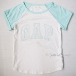 1224 Gap Kids T-Shirt - Light Green ขนาด 6-7 ปี