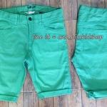 1900 H&M Boys Shorts Jeans - Green ขนาด 9-10 , 13-14 ปี