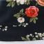 Preorder เสื้อทำงาน สีชมพูกลีบบัว คอจีน แขนแต่งระบาย พิมพ์ลายดอกไม้สวยหวาน เนื้อผ้าระบายอากาศได้ดี thumbnail 7