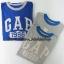 1855 Gap Kids Graphic Short Sleeve - Grey, Blue ขนาด 10,13XL ปี