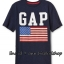 2018 GAP KIDS T-Shirt - Navy Blue ขนาด 8-9 ปี