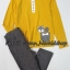 SP017 H&M Mustard Long Sleeve + H&M Legging thumbnail 1