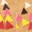 Preorder ตุ้มหู สามเหลี่ยม Colorfull มีหลายสีให้เลือก Orange , Yellow , Purple ,White thumbnail 15