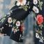 Preorder เสื้อทำงาน สีชมพูกลีบบัว คอจีน แขนแต่งระบาย พิมพ์ลายดอกไม้สวยหวาน เนื้อผ้าระบายอากาศได้ดี thumbnail 6