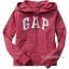 1673 Gap Kids Arch Logo Hoodies - Rose ขนาด 12-13 ปี - ส่งฟรี ลทบ. thumbnail 1