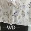 Preorder เสื้อทำงาน สีขาว ช่วงคอและแขนแต่งระบายน่ารัก เนื้อผ้าระบายความอากาศได้ดี thumbnail 11