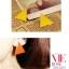 Preorder ตุ้มหู สามเหลี่ยม Colorfull มีหลายสีให้เลือก Orange , Yellow , Purple ,White thumbnail 18