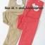 1836 กางเกงลายจุด สีเทากับสีโอโรส งานนำเข้าญุี่ปุ่น ขนาด 150 thumbnail 1