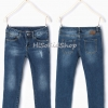 1218 Zara Basic Jeans - Blue ขนาด 8,9-10 ปี