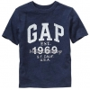 1216 Gap Kids Arch Logo T-Shirt Top Boys - Navy Blue ขนาด 10,12,14-16 ปี