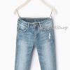 1219 Zara Basic Jeans - Light Blue ขนาด 8,11-12,13-14 ปี