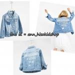 1718 Zara Denim Jacket - Blue ขนาด 8,9-10,11-12 ปี