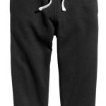 1771 H&M Sweatpants - Black งานแท้ 100% ขนาด 10-11,13-14 ปี