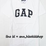 1706 Gap Arch Logo T-Shirt - White ขนาด M,L,XL