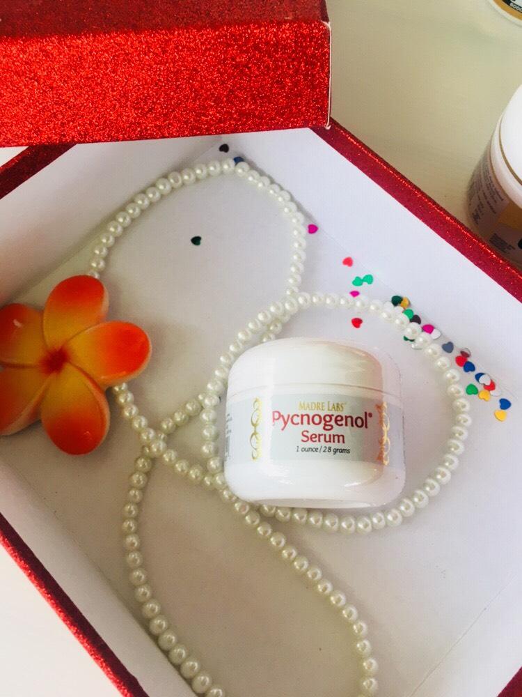 Madre Labs Pycnogenol Serum Cream 1 Oz 28 G คร มบำร งผ วจากดป