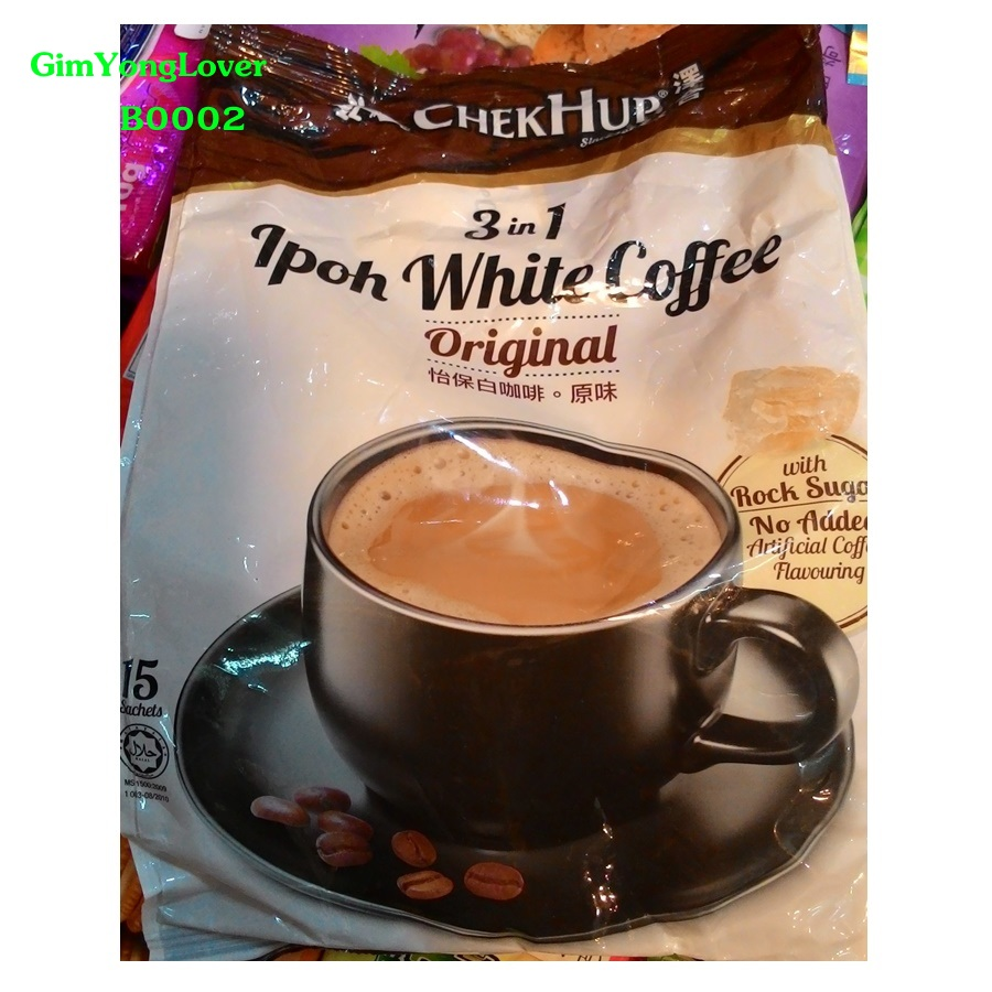 Chek Hup กาแฟสำเร็จรูป 3in1 (Chek Hup Ipoh White Coffee Original)