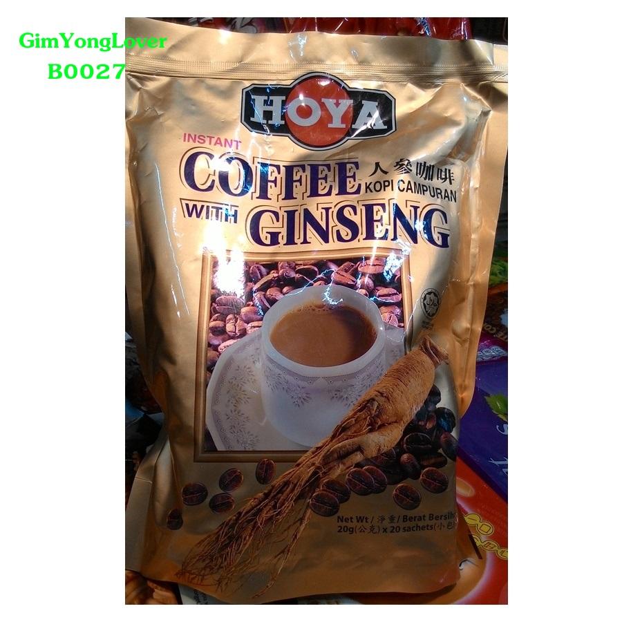HOYA กาแฟผสมโสมสำเร็จรูป (HOYA Coffee with Ginseng)