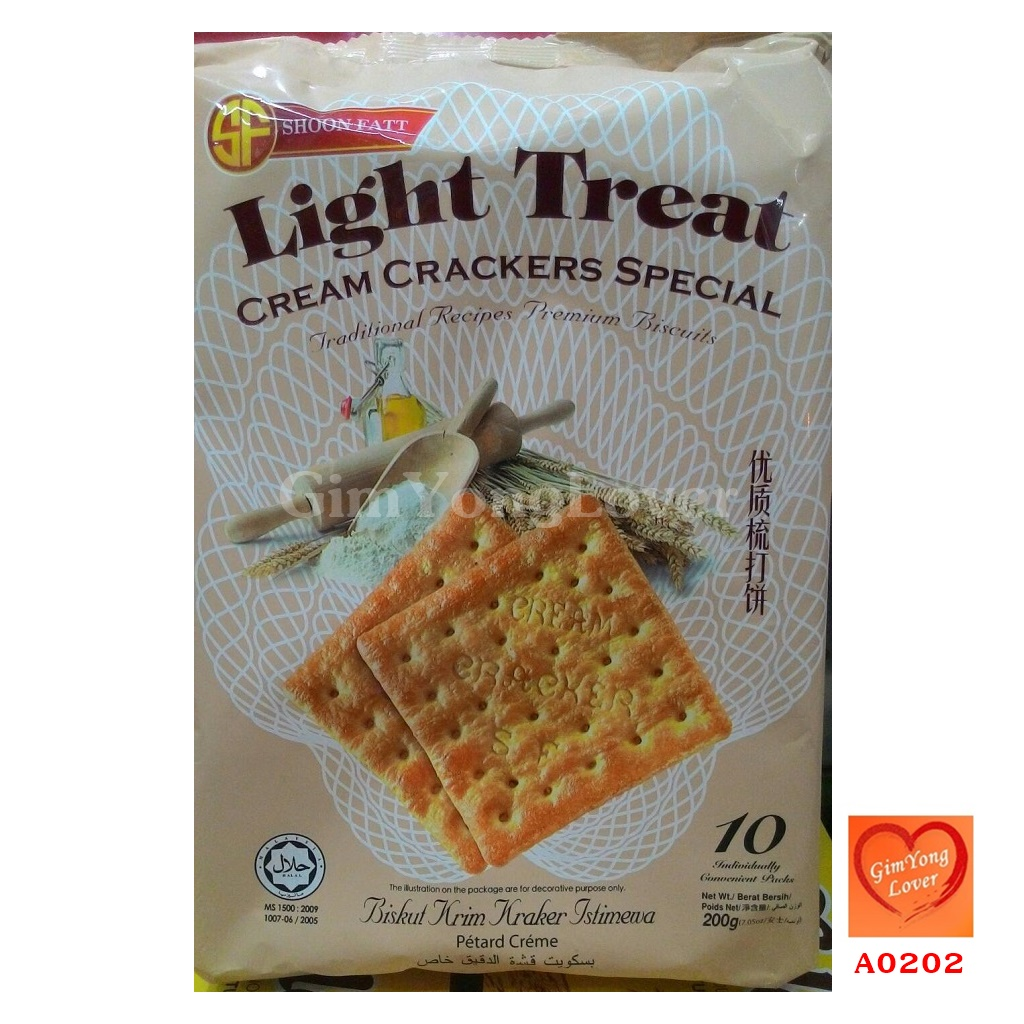 Light Treat แครกเกอร์ครีม (Light Treat Cream Crackers Special)