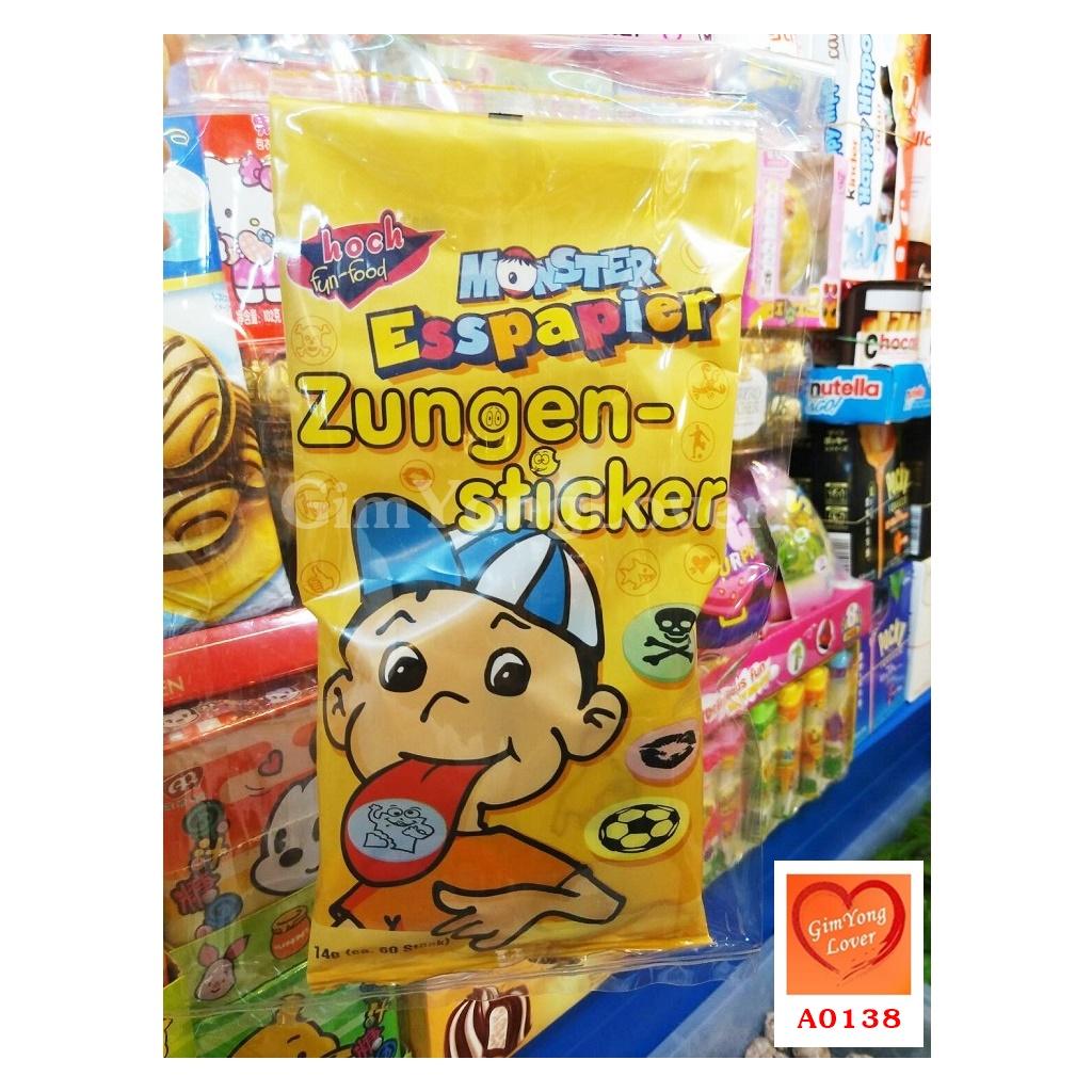 ขนมกระดาษแปะลิ้น (Monster Esspapier Zungen-sticker)