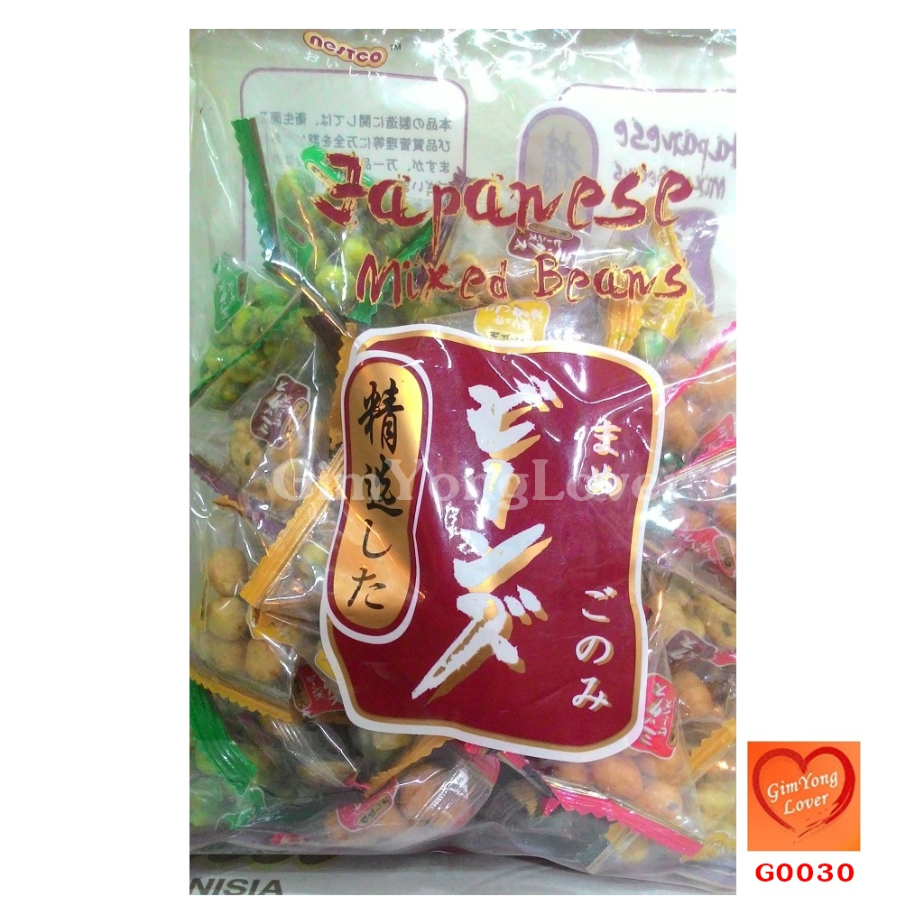 ถั่วรวมเคลือบกระเทียม (Japanese Mixed Beans)