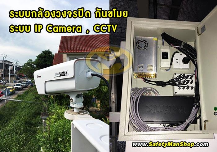 ระบบกล้องวงจรปิด กันขโมย WIFI IPcamera