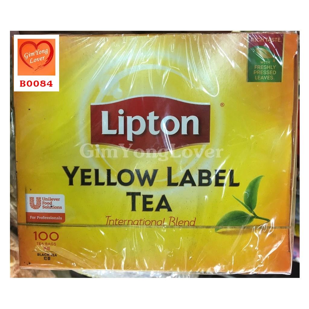ลิปตัน ชากล่องเหลือง (Lipton Yellow Label Tea)
