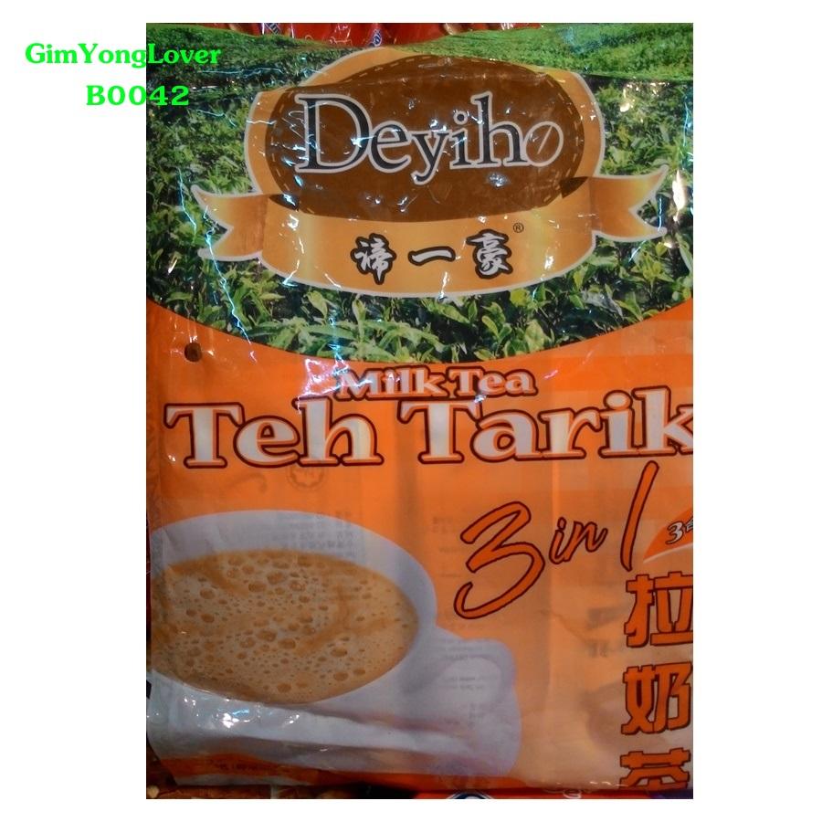 Deyiho ชานมสำเร็จรูป 3in1 (Deyiho Teh Tarik Milk Tea)