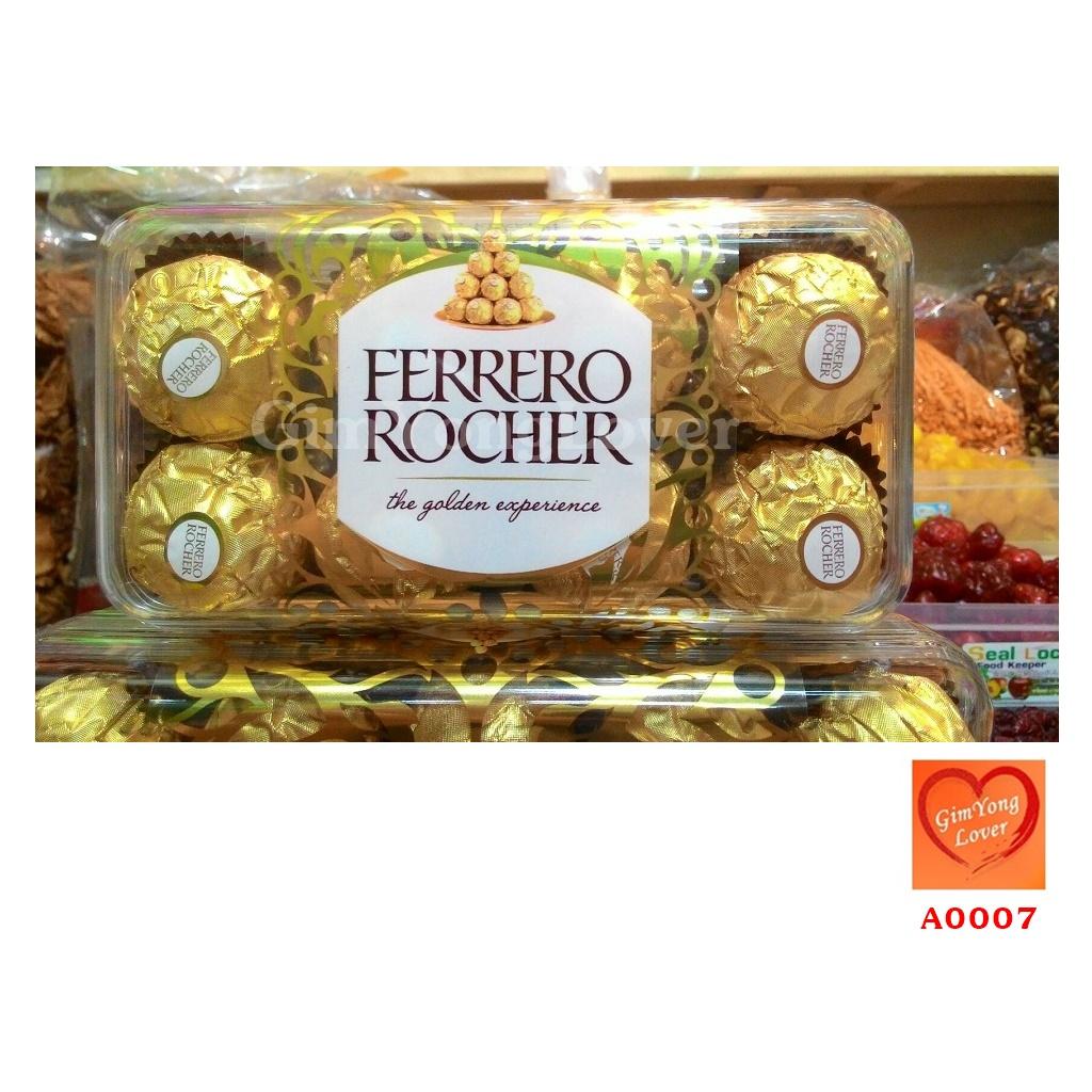 ช็อกโกแลตเฟอเรโร่รอชเชอร์ ขนาด 16 ลูก (Ferrero Rocher 16 Pieces)