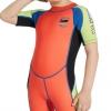 ชุดว่ายน้ำเด็กควบคุมอุณหภูมิ เป็นชุด wetsuit เหมาะกับการใส่ว่ายน้ำหรือดำน้ำ / ผลิตจากผ้า Neoprene หนา 2.5 mm. ป้องกันความหนาว / ป้องกันแสงแดด UPF 50+