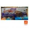 LONDON Roll เค้กโรลเนื้อช็อคโกแลต ไส้ครีมช็อคโกแลต (London Choco Roll Double Choco Milk Cream Cake)