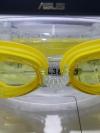 แว่นตาว่ายน้ำเด็กลาย มินเนี่ยน สีเหลือง