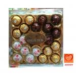 ช็อกโกแลตเฟอเรโร่รอชเชอร์ กล่องรวมรส ขนาด 20 ลูก (Ferrero Collection)