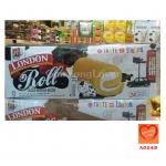 LONDON Roll เค้กโรลไส้ครีมนม (LONDON Roll Milk Cream Cake)