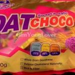 OAT CHOCCO ข้าวโอ๊ตอัดแท่ง รสมันม่วง (OAT CHOCO Sweet Patato)