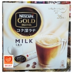 Nescafe Gold Blend milk