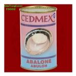 หอยเป่าฮื้อกระป๋อง ยี่ห้อ CEDMEX Abalone (CEDMEX Wild Catch Abalone)