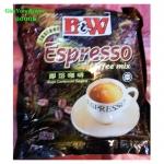 B&W กาแฟเอสเพรสโซ่สำเร็จรูป 3in1 (B&W Espresso Instant Coffee Mix)