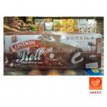 LONDON Roll เค้กโรลเนื้อช็อคโกแลต ไส้ครีมนม (London Roll Choco Flavour Cake)