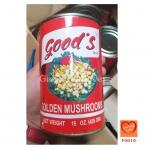 เห็ดเข็มทองกระป๋อง ตรา Good's (Good's Golden Mushrooms)