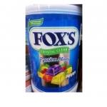 ฟอกซ์ ลูกอมคริสตัลเคลียร์ รสมิ้นต์ (Fox's Passion Mints Crystal Clear Tin)