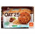 จูลี่ส์โอ๊ต 25 คุกกี้ข้าวโอ๊ตผสมเฮเซลนัทและช็อกโกแลตชิพ (Julie's OAT25)