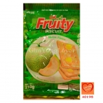OK FRUITY บิสกิตรสเมล่อน (OK Fruity Biscuit Melon Flavor)